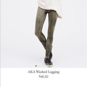 Free People | AKA Washed Leggings